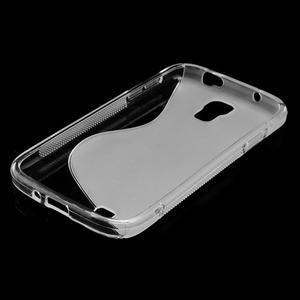 S-line gélový obal pre Samsung Galaxy S4 - transparentný - 7