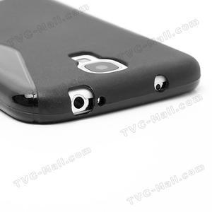 S-line gélový obal na Samsung Galaxy S4 - čierný - 7