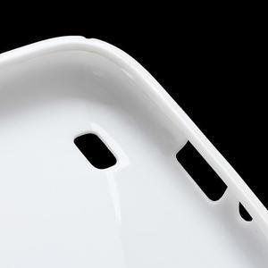 S-line gélový obal na Samsung Galaxy S4 - biely - 7