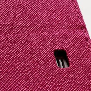Fancy peňaženkové puzdro na Samsung Galaxy S4 -  rose - 7