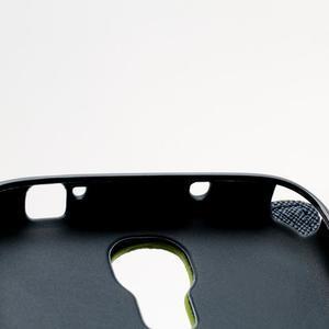 Fancy peňaženkové puzdro pre Samsung Galaxy S4 - zelené - 7