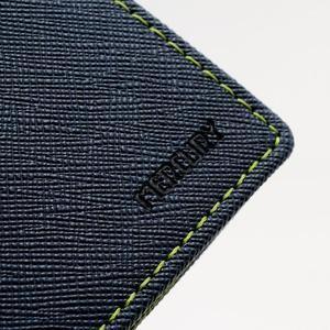 Fancy peňaženkové puzdro na Samsung Galaxy S4 - tmavo modré - 7