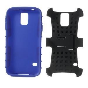 Outdoor odolný kryt pre mobil Samsung Galaxy S5 - modrý - 7