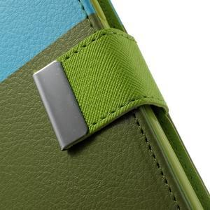 Colory PU kožené puzdro pre mobil Samsung Galaxy S5 - variant IV - 7