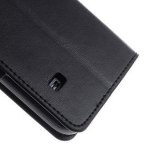 Sonata PU kožené pouzdro na Samsung Galaxy S5 mini - černé - 7