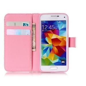 Stand peňaženkové puzdro pre Samsung Galaxy S5 mini - smile - 7