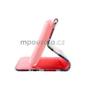 Peňaženkové puzdro na Sony Xperia E4g - sovičky - 7
