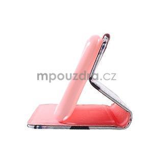 Peňaženkové puzdro pre Sony Xperia E4g - kvety - 7