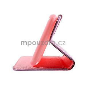 Peňaženkové puzdro na Sony Xperia E4g - kvitnúca vetvička - 7