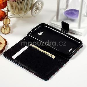 Peňaženkové puzdro na Sony Xperia E4g - UK vlajka - 7