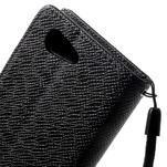 Černé peněženkové pouzdro na Sony Xperia Z3 Compact - 7/7