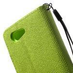 Zelené peněženkové pouzdro na Sony Xperia Z3 Compact - 7/7
