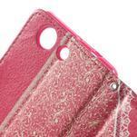Zapinací pouzdro s mašličkou na Sony Xperia Z3 Compact - červené - 7/7