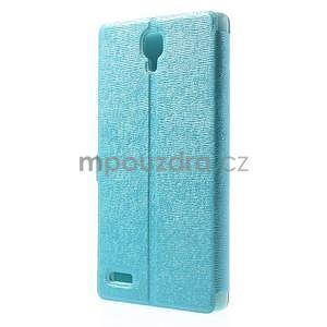 Kožené puzdro na Xiaomi Hongmi Note - světle modré - 7