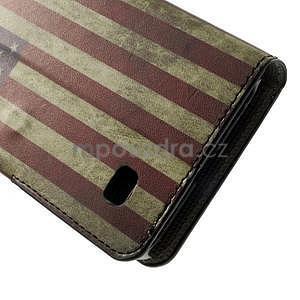 Peněženkévo puzdro na Huawei Ascend Y550 - USA vlajka - 7