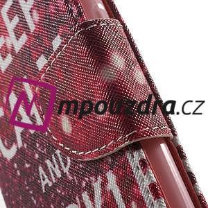 Emotive peněženkové puzdro na Huawei Y5 II - Keep Calm - 7