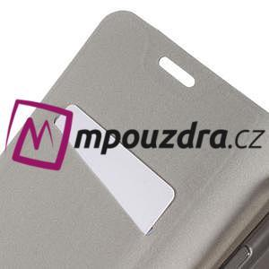 Horse PU kožené puzdro na mobil Huawei Y5 II - čierne - 7