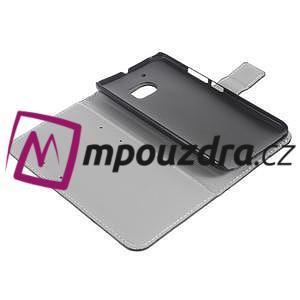 Horse PU kožené puzdro na mobil Huawei Y5 II - biele - 7