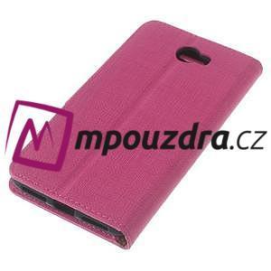 Clothy peněženkové puzdro na Huawei Y5 II - rose - 7