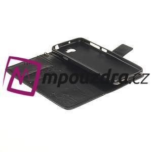 Dandelion PU kožené puzdro na Huawei Y5 II - čierne - 7