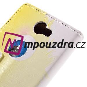 Emotive peňaženkové puzdro na Huawei Y6 II Compact - modrá príšera - 7