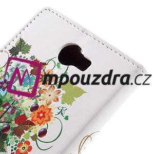 Emotive peňaženkové puzdro na Huawei Y6 II Compact - farebný strom - 7