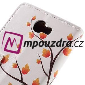 Emotive peňaženkové puzdro na Huawei Y6 II Compact - jesenný strom - 7