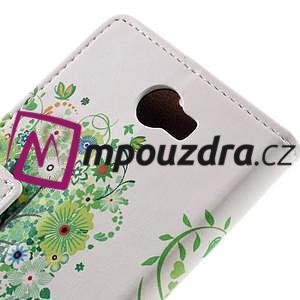 Emotive peňaženkové puzdro na Huawei Y6 II Compact - zelený strom - 7