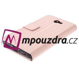 Horses PU kožené pouzdro na Huawei Y6 II Compact - růžové - 7