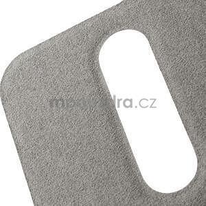 Flipové kožené puzdro na HTC Desire 500 - růžové - 7