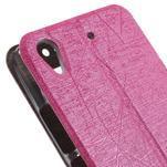 puzdro s okýnky na Huawei Ascend G620s - růžové - 7/7