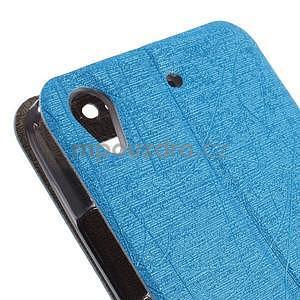 puzdro s okýnky na Huawei Ascend G620s - světle modré - 7