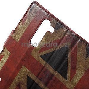 Pěněženkové puzdro na LG G4c H525n - vlajka UK - 7