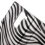 Pěněženkové puzdro na LG G4c H525n - zebra - 7/7