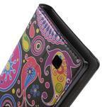 Pěněženkové puzdro na LG G4c H525n - farebné kruhy - 7/7