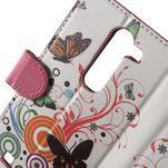 Peňaženkové puzdro pre LG G4c H525n - motýľkové - 7/7