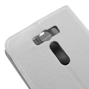 Horse puzdro pre mobil Asus Zenfone 2 Laser - biele - 7