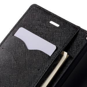 Diary štýlové puzdro na Asus Zenfone 2 Laser - čierne - 7