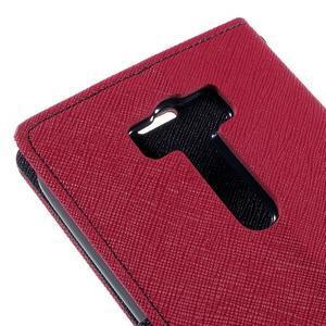 Diary štýlové puzdro pre Asus Zenfone 2 Laser - rose - 7