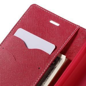 Diary štýlové puzdro na Asus Zenfone 2 Laser - ružové - 7