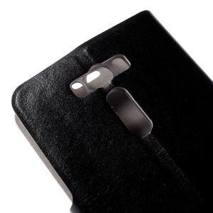 Horse puzdro pre mobil Asus Zenfone 2 Laser - čierne - 7