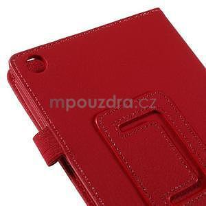 Koženkové puzdro na tablet Asus ZenPad 7.0 Z370CG - červené - 7