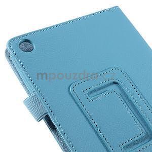 Koženkové puzdro na tablet Asus ZenPad 7.0 Z370CG - svetlomodrý - 7