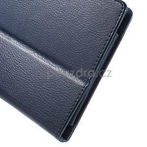Safety polohovateľné puzdro pre tablet Asus ZenPad 8.0 Z380C - tmavomodré - 7