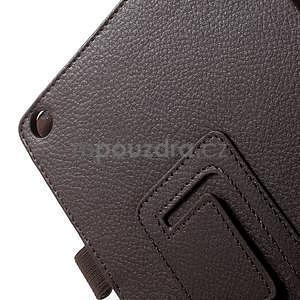 Safety polohovateľné puzdro pre tablet Asus ZenPad 8.0 Z380C - hnedé - 7