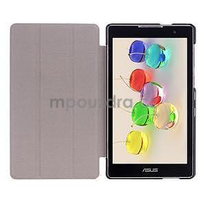 Trifold puzdro pre tablet Asus ZenPad C 7.0 Z170MG - tmavomodré - 7