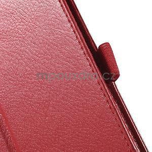 Safety koženkové puzdro na Asus ZenPad C 7.0 Z170MG - červené - 7