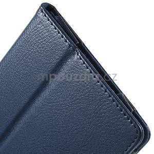 Safety koženkové puzdro pre Asus ZenPad C 7.0 Z170MG - tmavomodré - 7