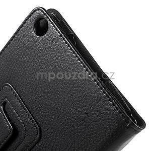 Safety koženkové puzdro pre Asus ZenPad C 7.0 Z170MG - čierne - 7