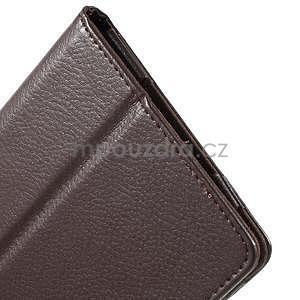Safety koženkové puzdro na Asus ZenPad C 7.0 Z170MG - hnedé - 7